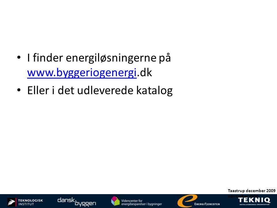 I finder energiløsningerne på www.byggeriogenergi.dk