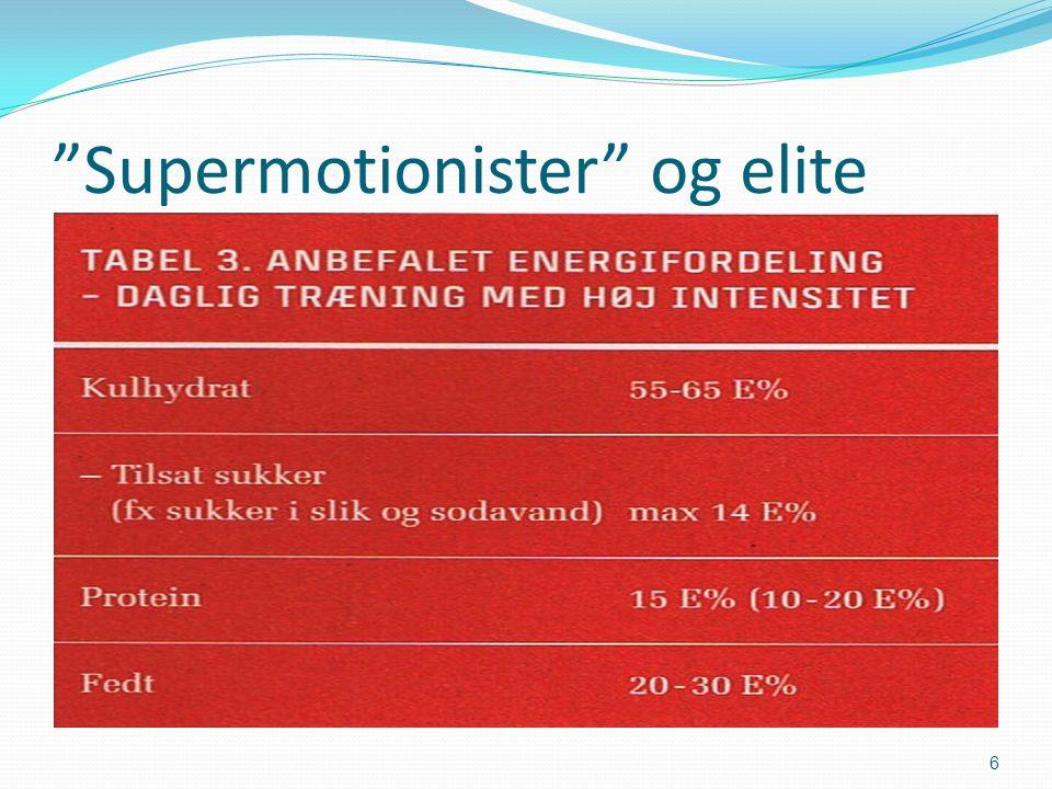 Supermotionister og elite