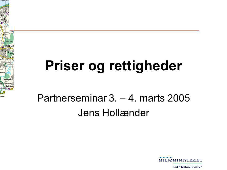 Partnerseminar 3. – 4. marts 2005 Jens Hollænder