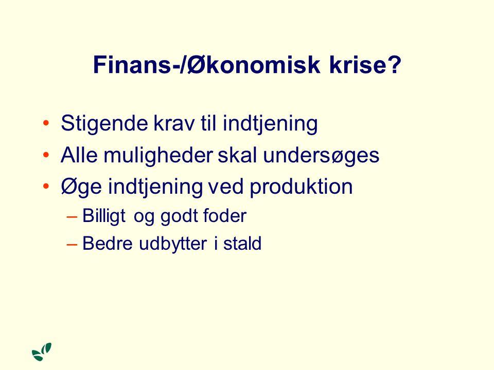 Finans-/Økonomisk krise