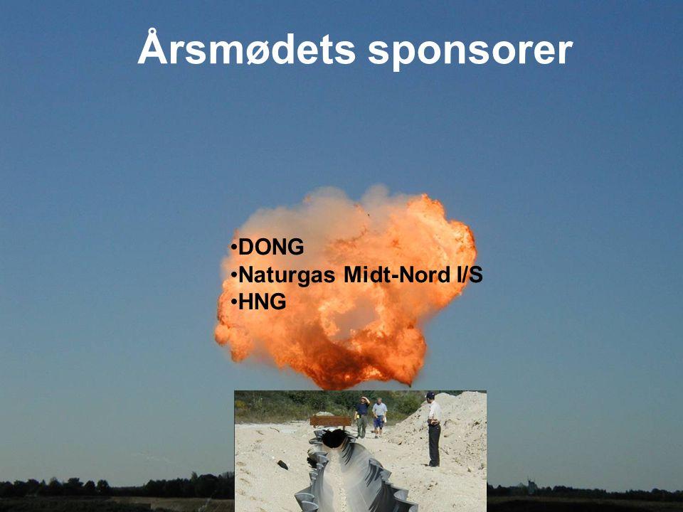 Årsmødets sponsorer DONG Naturgas Midt-Nord I/S HNG
