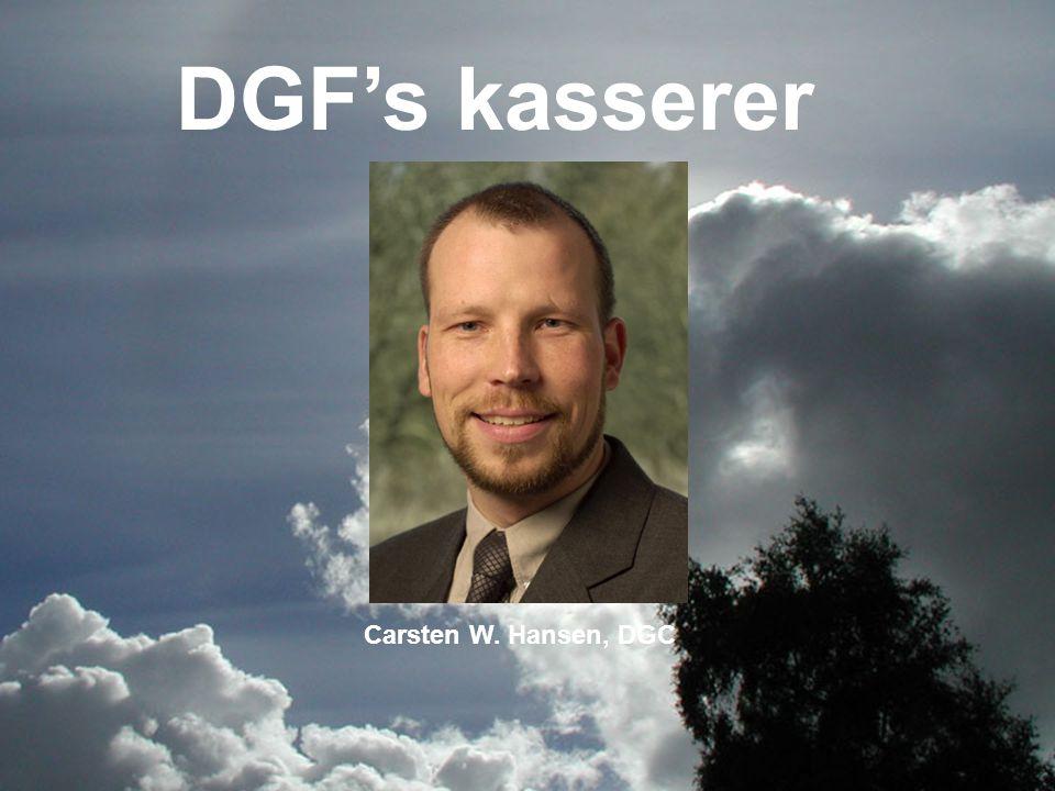 DGF's kasserer Carsten W. Hansen, DGC