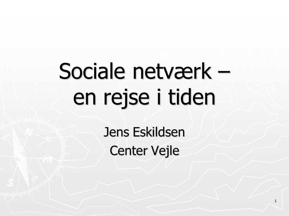 Sociale netværk – en rejse i tiden