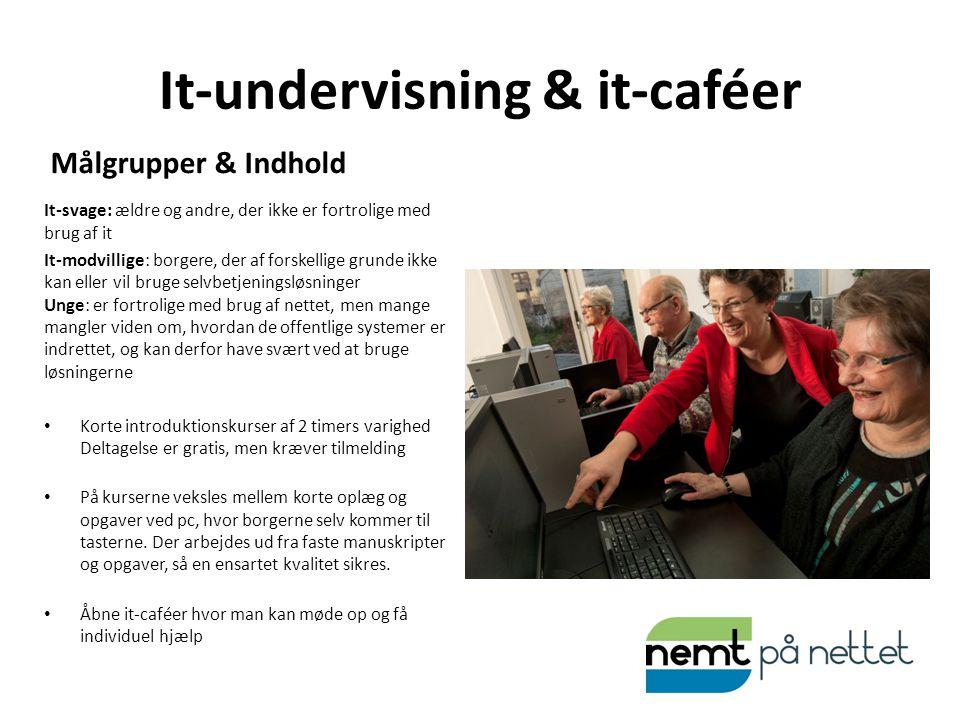 It-undervisning & it-caféer