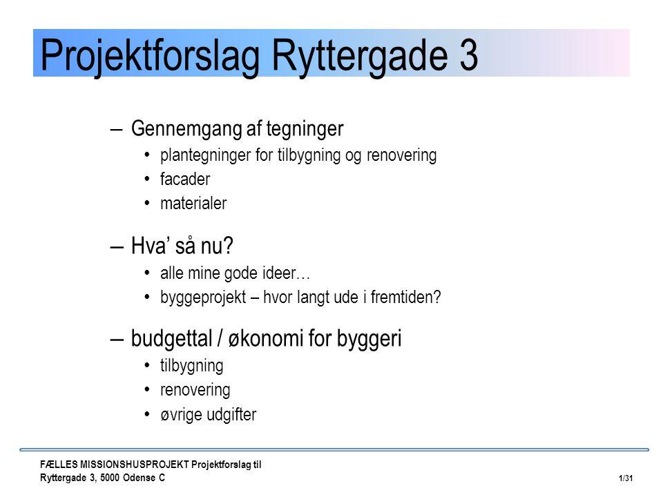 Projektforslag Ryttergade 3