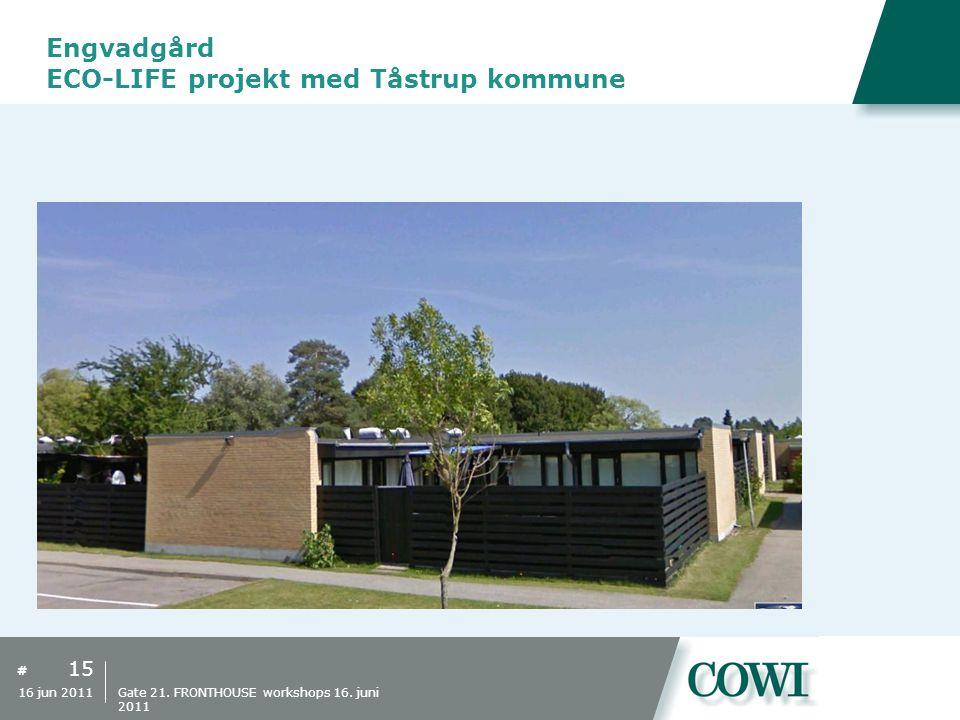 Engvadgård ECO-LIFE projekt med Tåstrup kommune