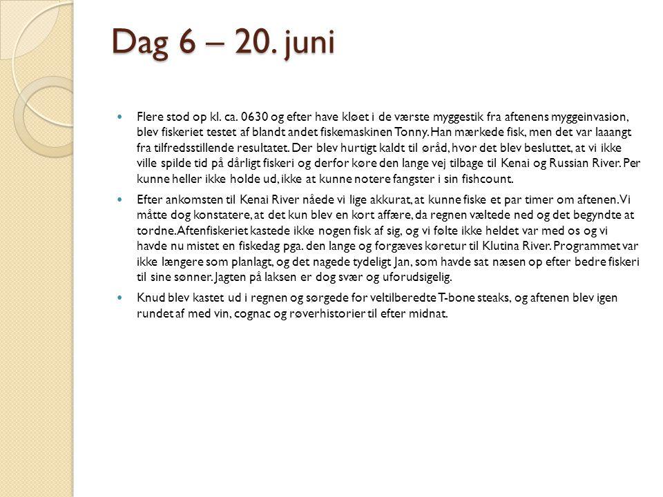 Dag 6 – 20. juni
