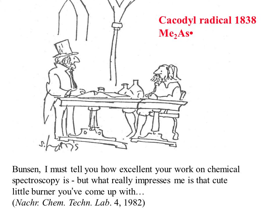 Cacodyl radical 1838 Me2As•