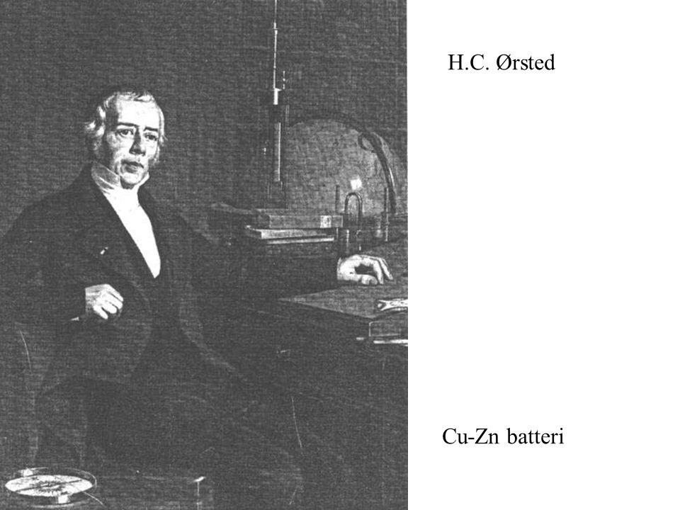 H.C. Ørsted Cu-Zn batteri