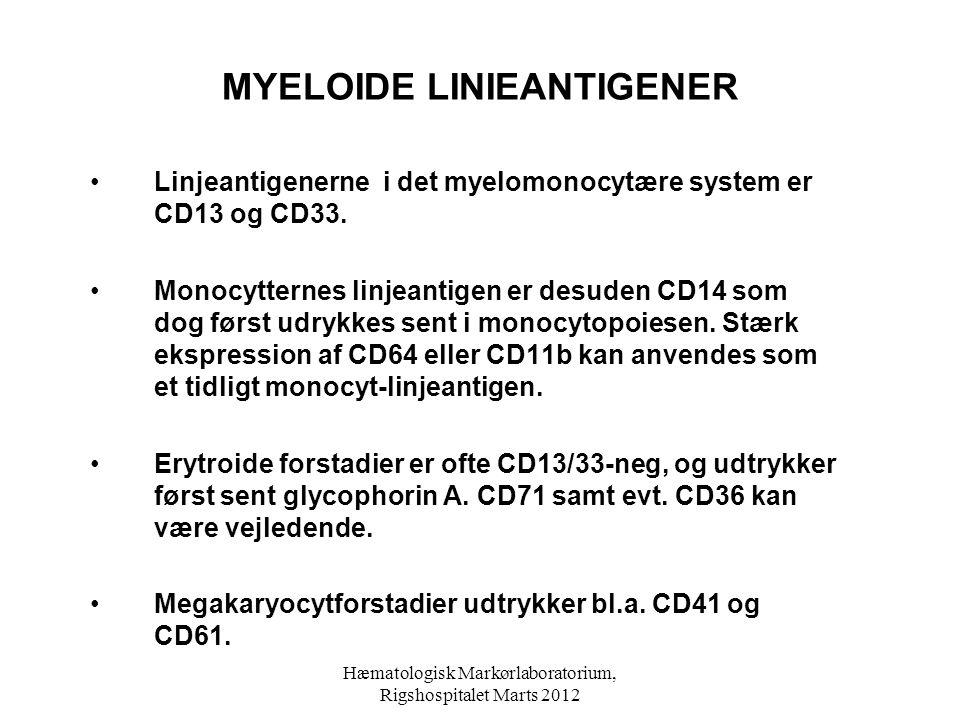 MYELOIDE LINIEANTIGENER