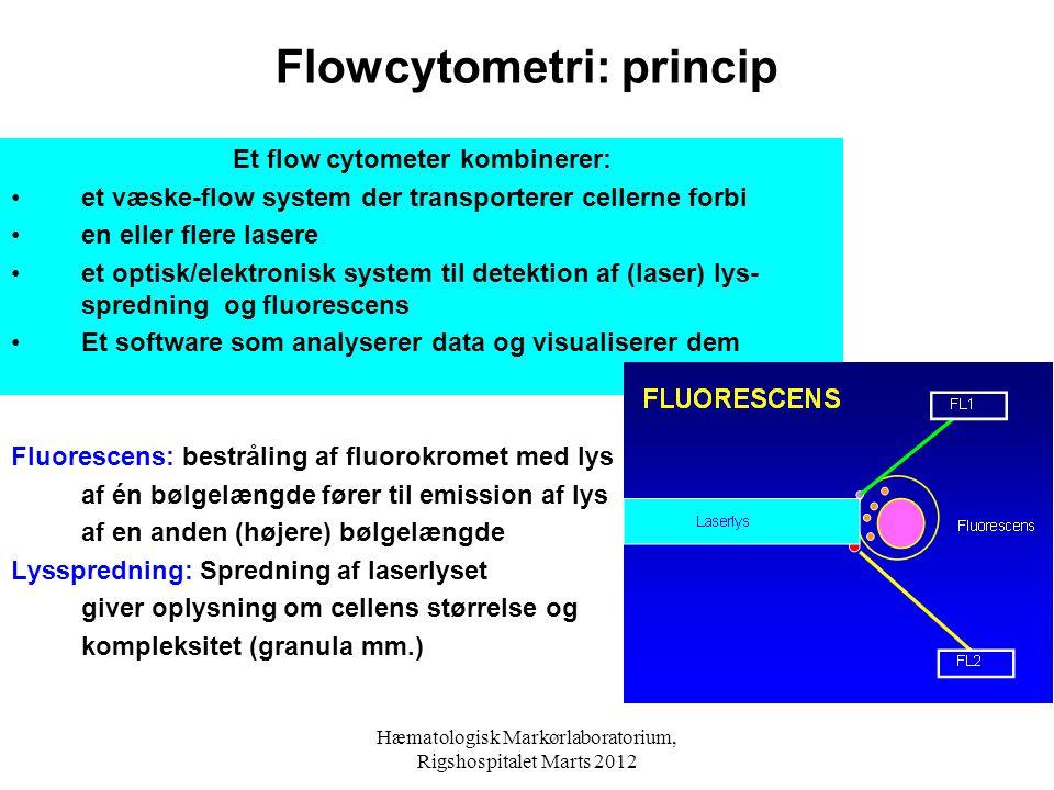 Flowcytometri: princip