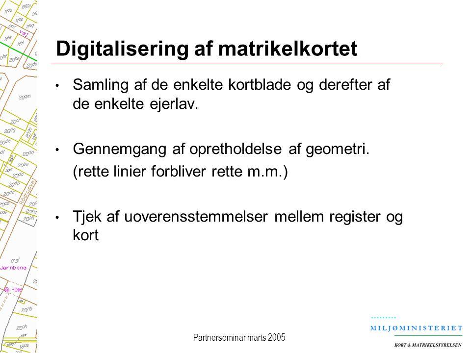 Digitalisering af matrikelkortet