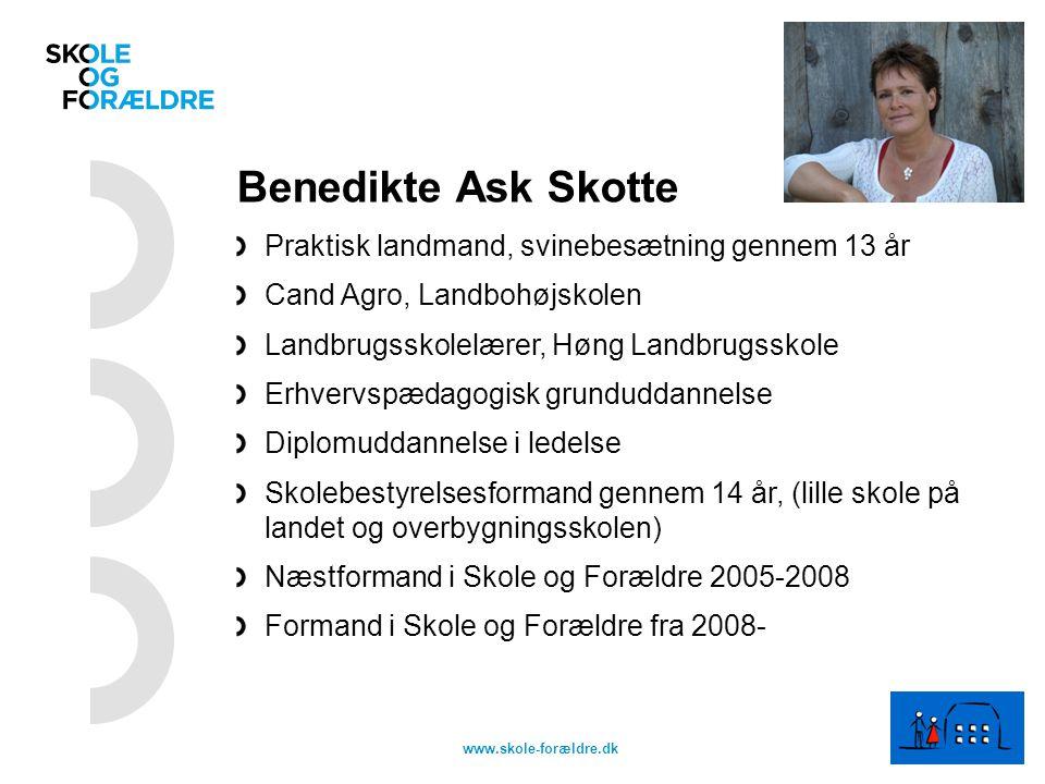 Benedikte Ask Skotte Praktisk landmand, svinebesætning gennem 13 år