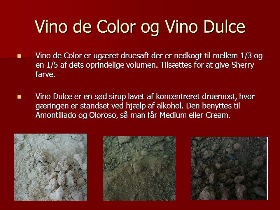 Vino de Color og Vino Dulce