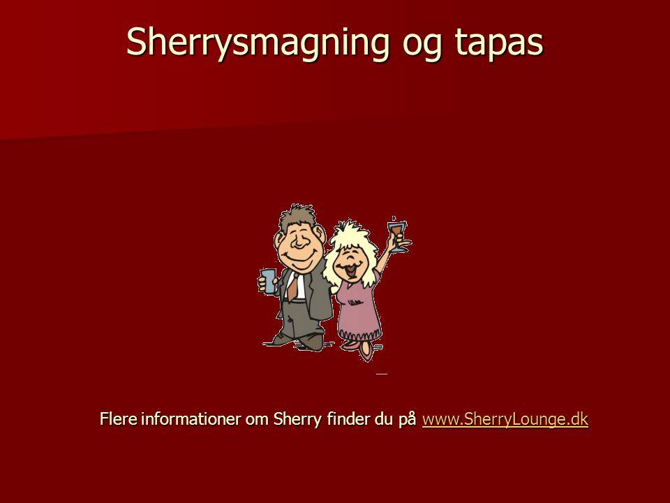 Sherrysmagning og tapas