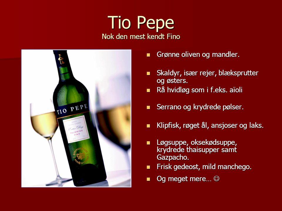 Tio Pepe Nok den mest kendt Fino
