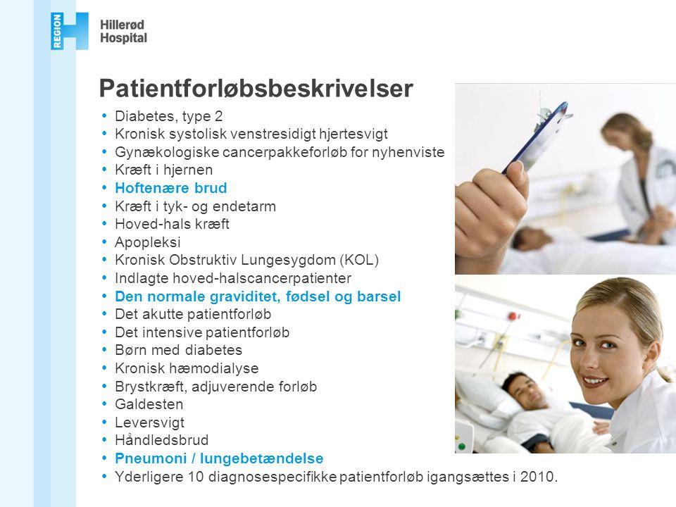 Patientforløbsbeskrivelser