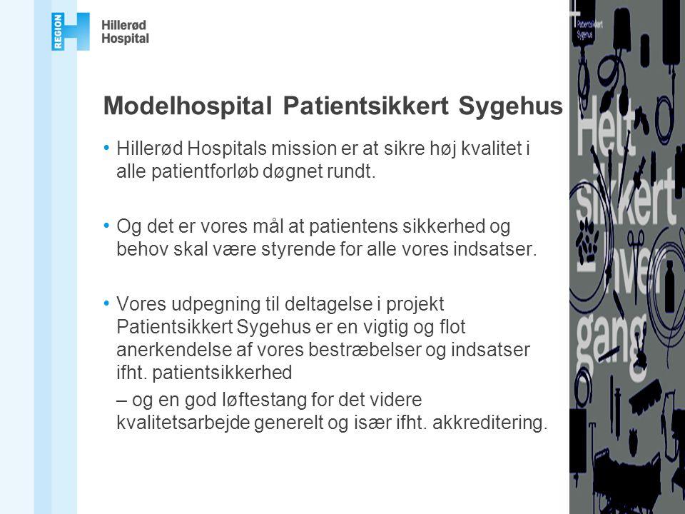 Modelhospital Patientsikkert Sygehus