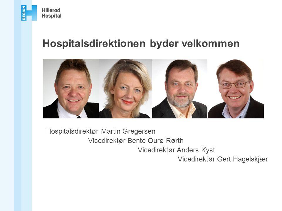 Hospitalsdirektionen byder velkommen
