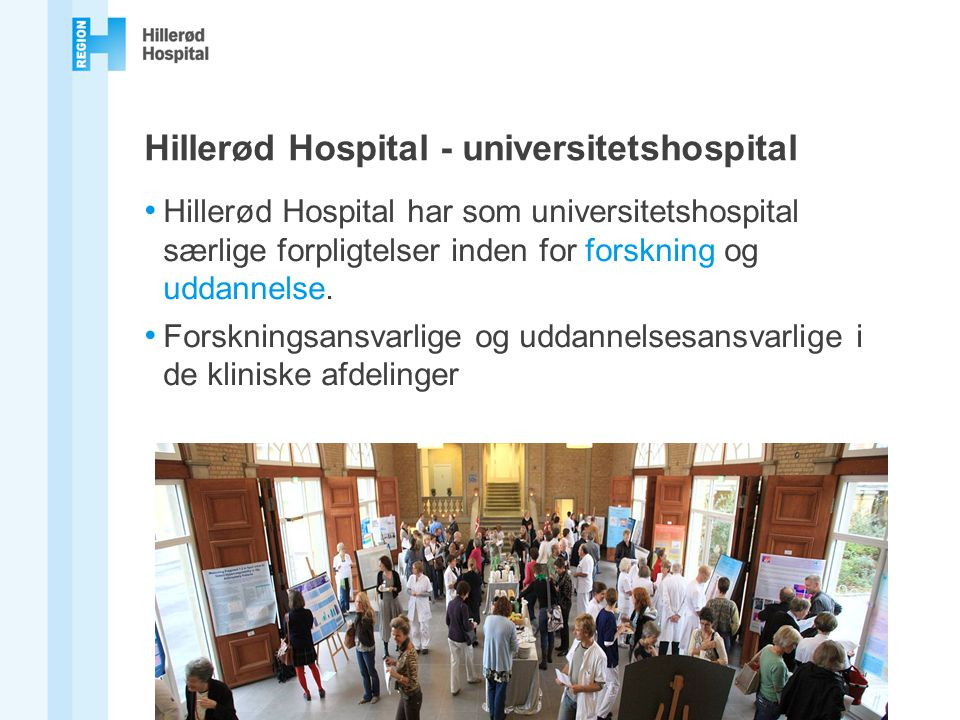 Hillerød Hospital - universitetshospital