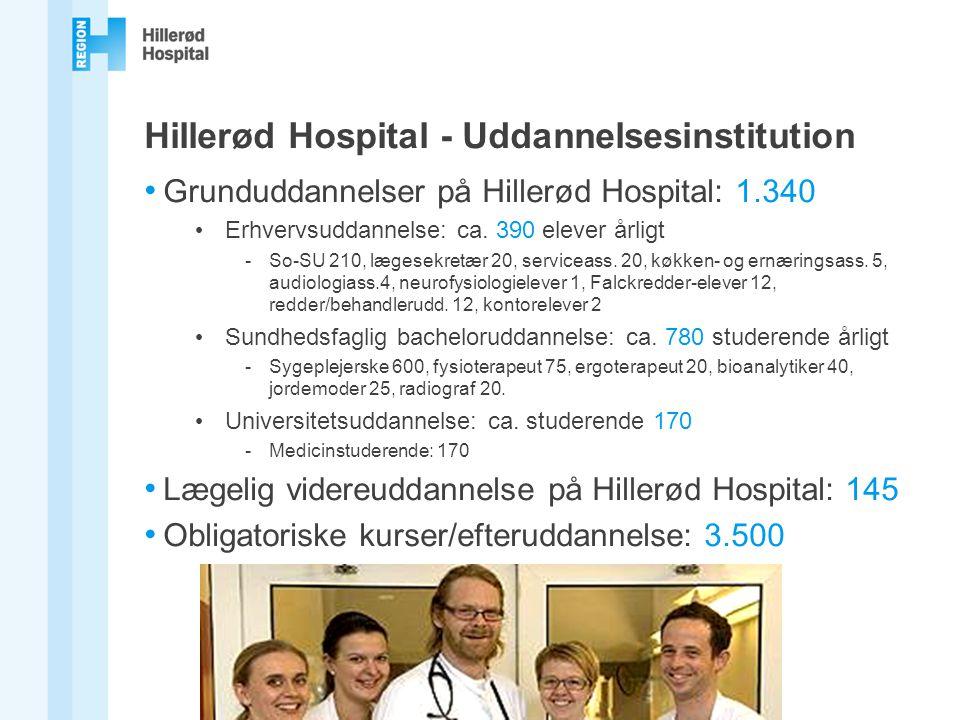 Hillerød Hospital - Uddannelsesinstitution