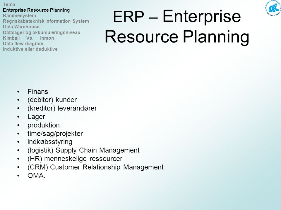 ERP SOFTWARE & SOLUTIONS