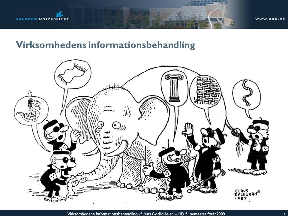 Virksomhedens informationsbehandling