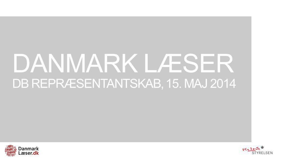 Danmark læser DB Repræsentantskab, 15. maj 2014