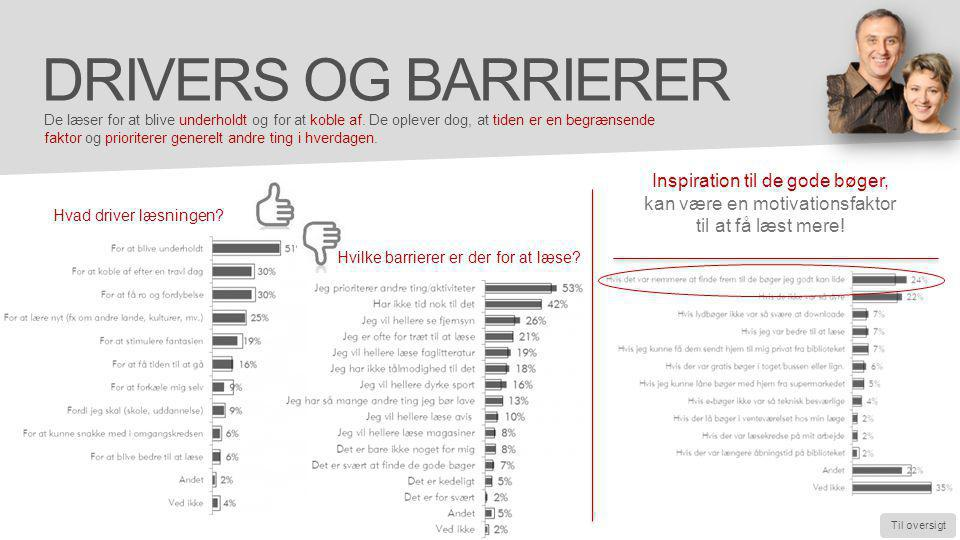 Drivers og barrierer