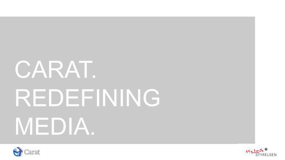 CARAT. REDEFINING MEDIA.