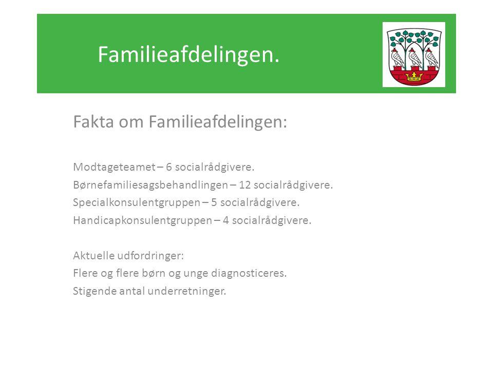 Familieafdelingen. Fakta om Familieafdelingen: