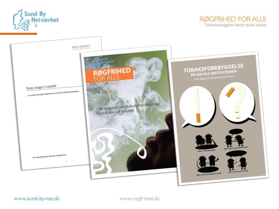 Vores evalueringsrapport, magasinet med historier fra kommunerne og vores undervisningsmateriale kan findes på