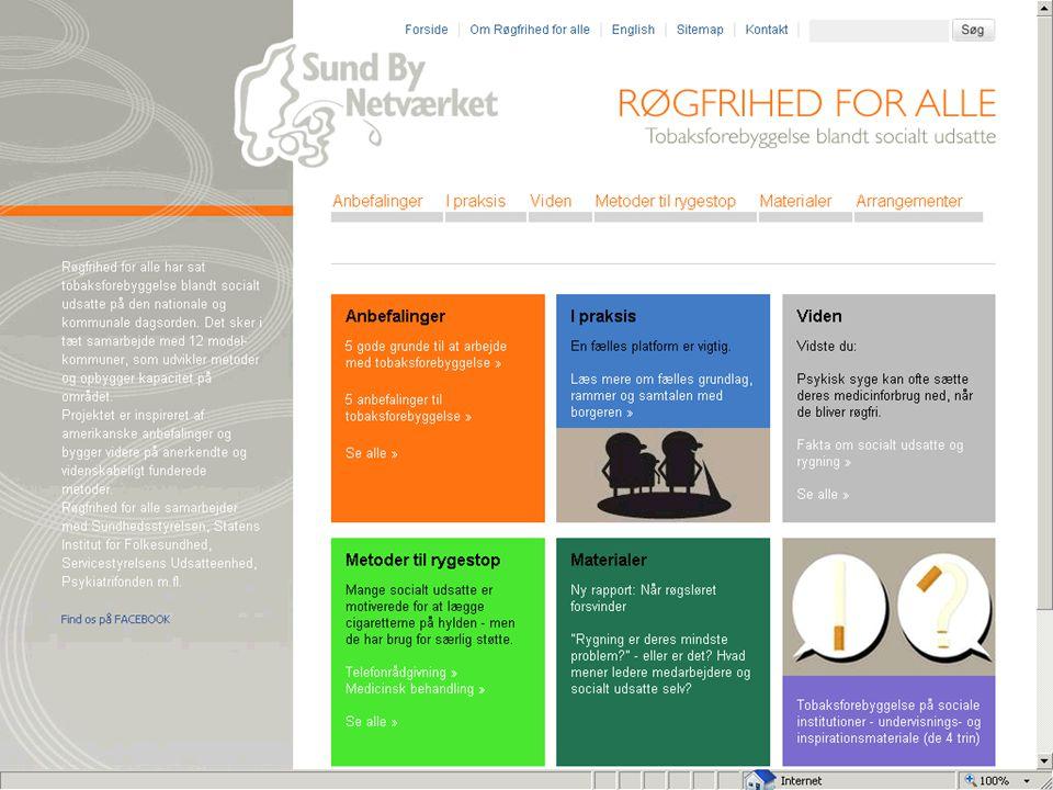 Den faglige portal www.rogfrihed.dk
