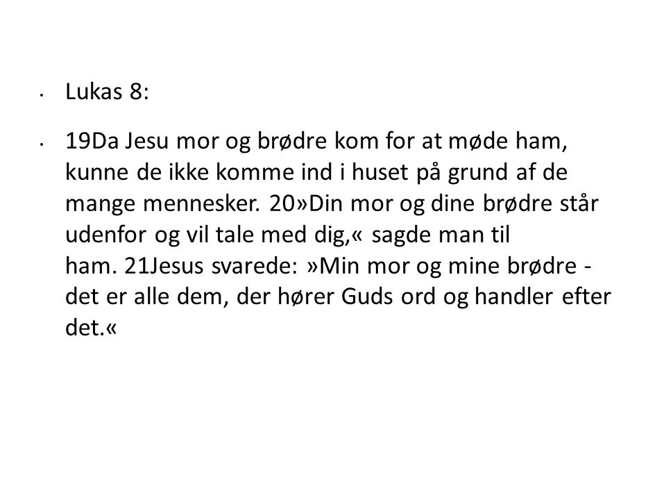 Lukas 8: