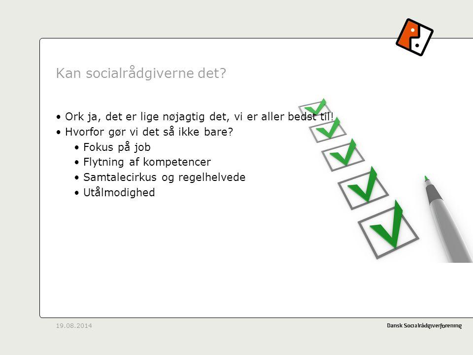 Kan socialrådgiverne det