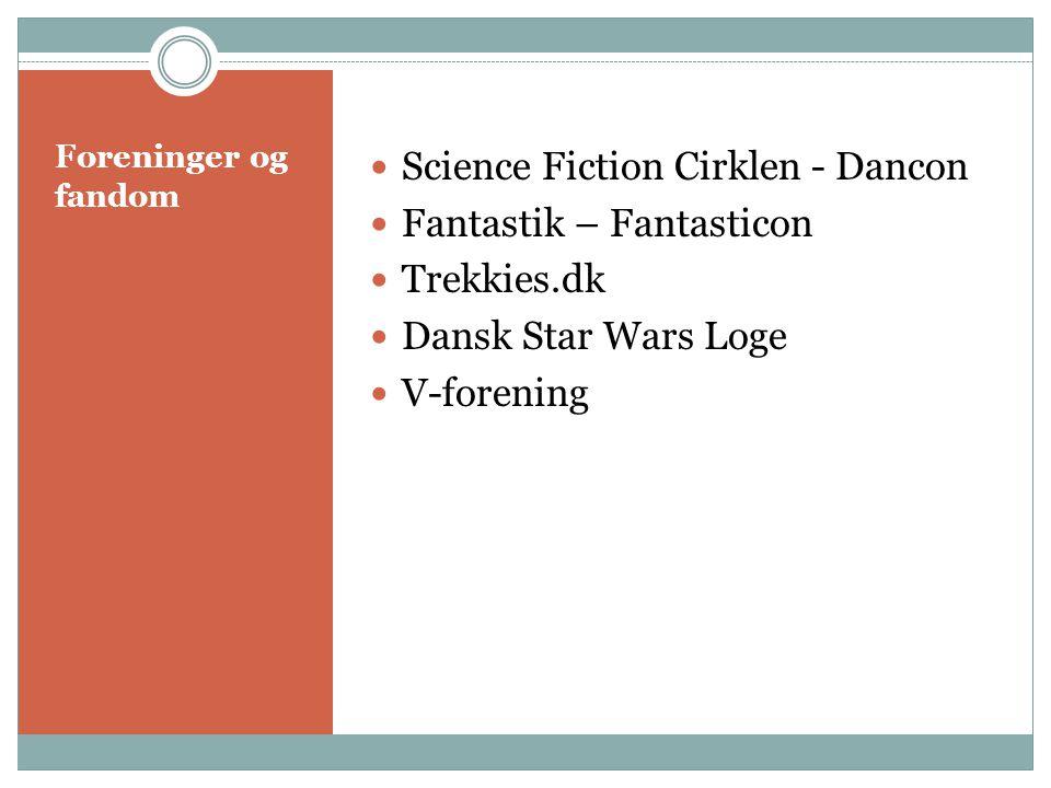 Science Fiction Cirklen - Dancon Fantastik – Fantasticon Trekkies.dk