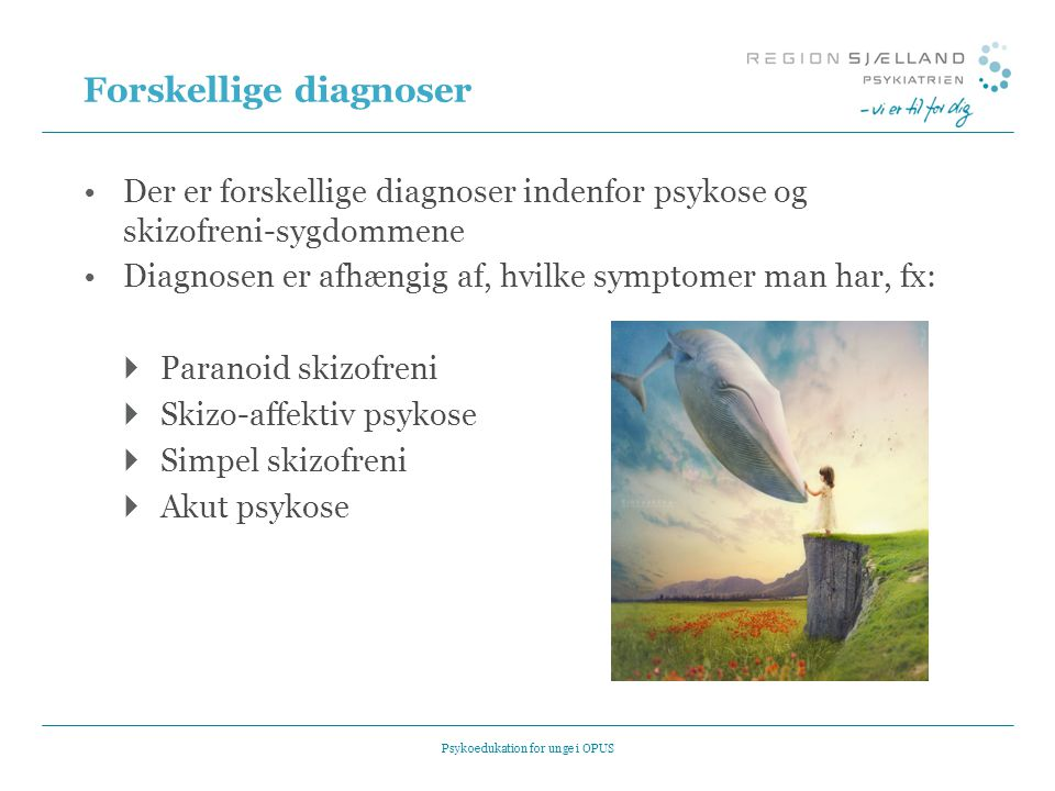 Forskellige diagnoser