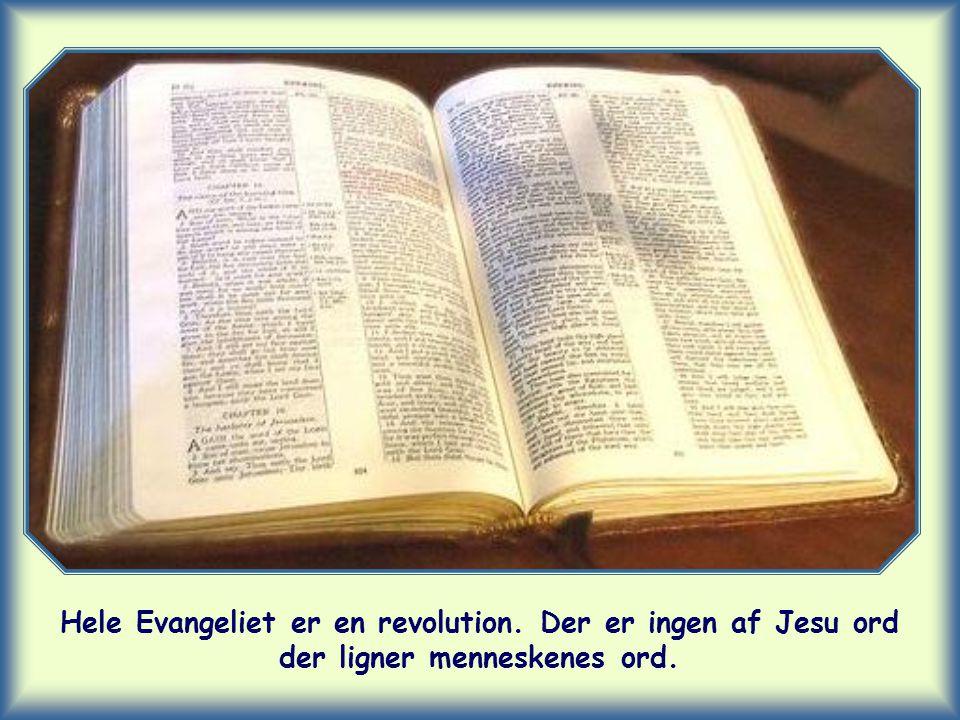 Hele Evangeliet er en revolution