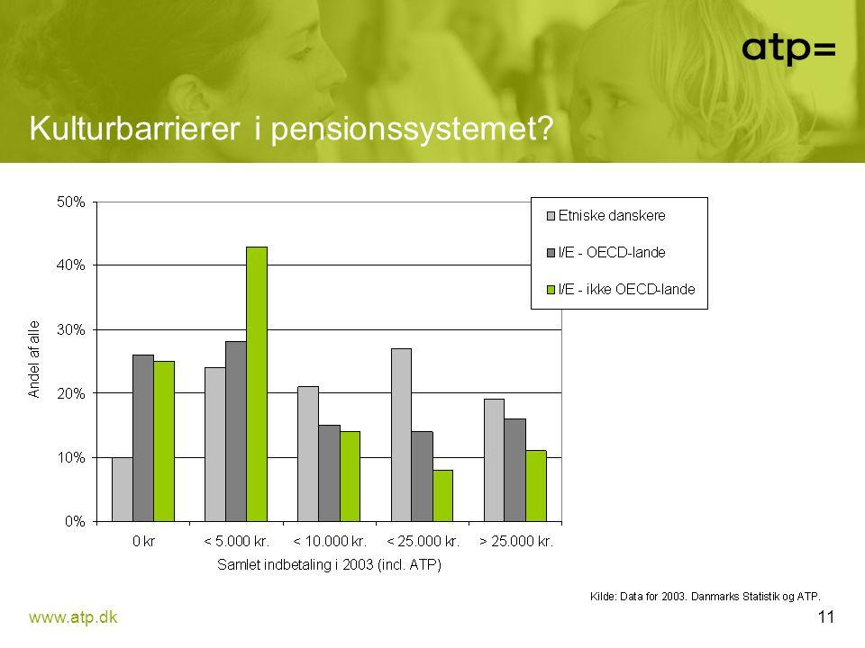 Kulturbarrierer i pensionssystemet