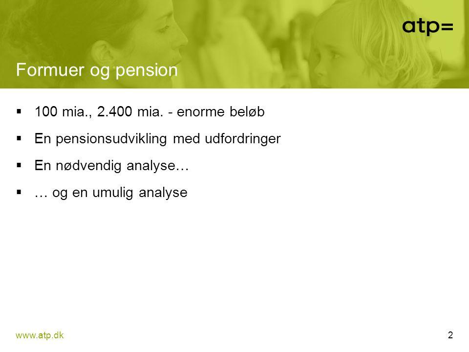 Formuer og pension 100 mia., 2.400 mia. - enorme beløb