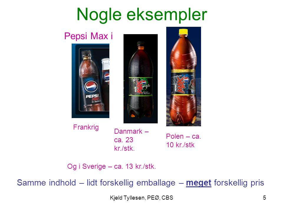 Samme indhold – lidt forskellig emballage – meget forskellig pris