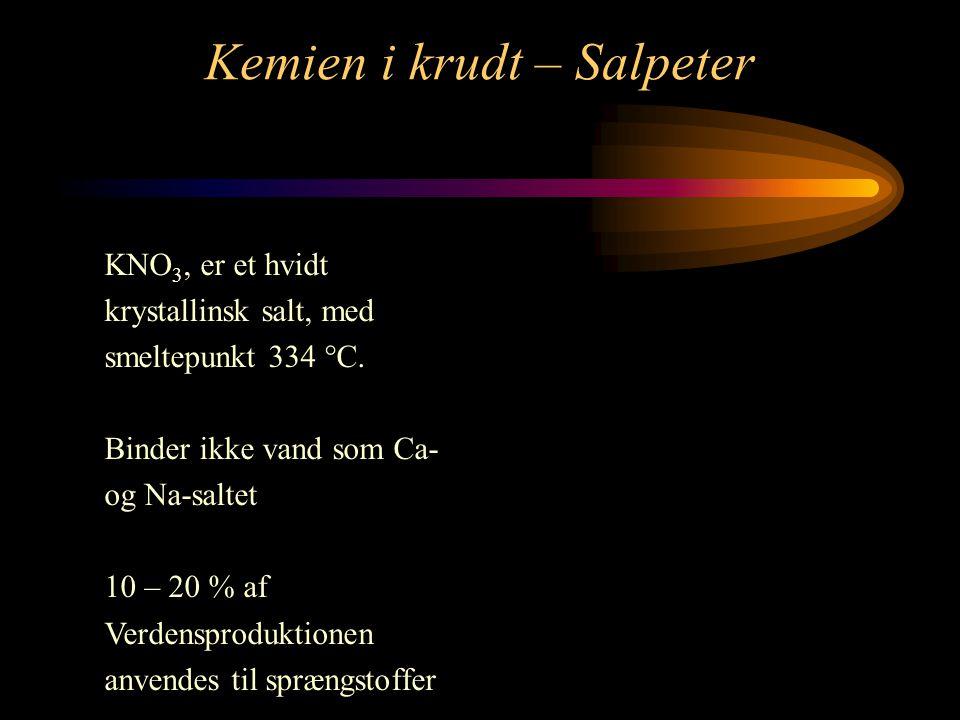 Kemien i krudt – Salpeter