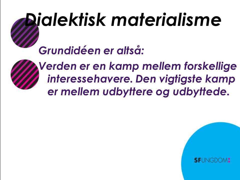 Dialektisk materialisme