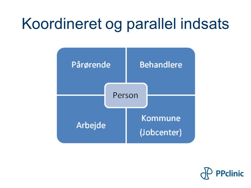 Koordineret og parallel indsats