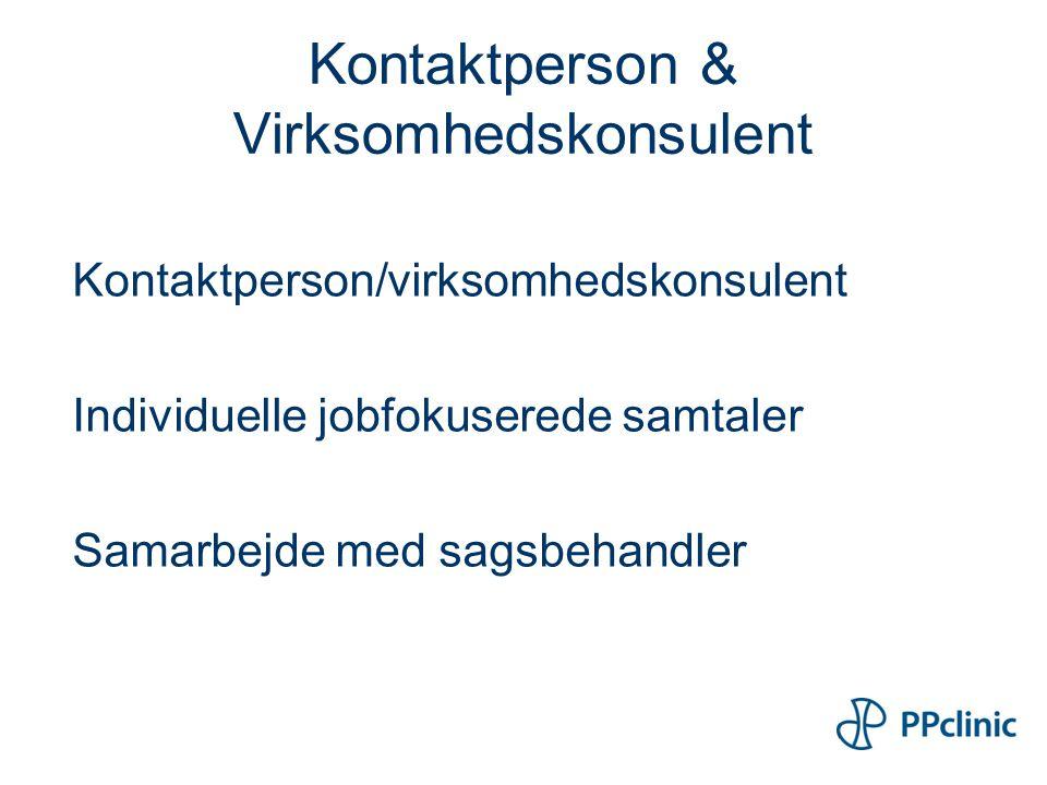 Kontaktperson & Virksomhedskonsulent