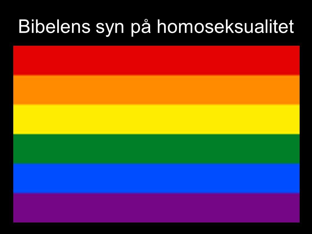 Bibelens syn på homoseksualitet