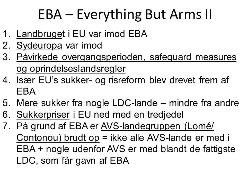 EBA – Everything But Arms II