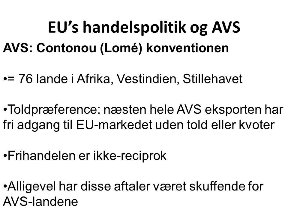 EU's handelspolitik og AVS