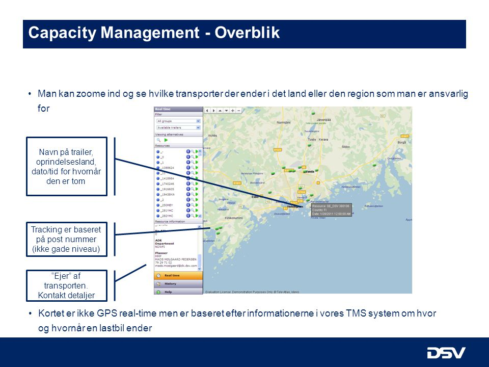 Capacity Management - Overblik