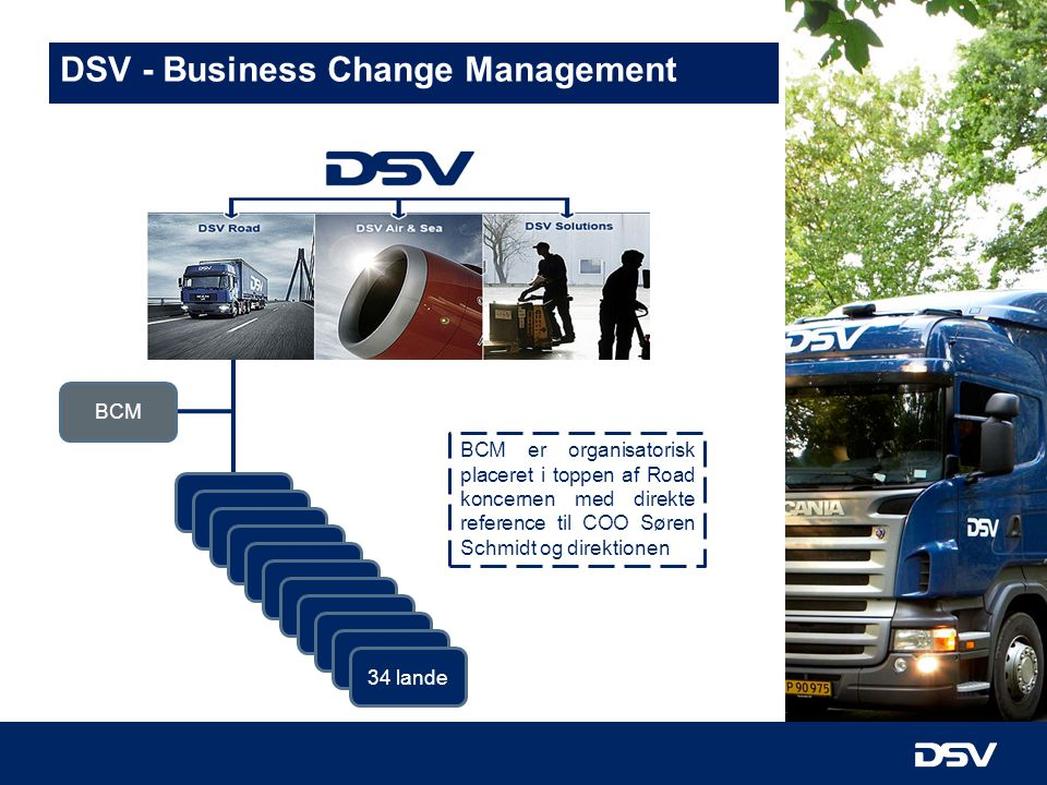 DSV - Business Change Management